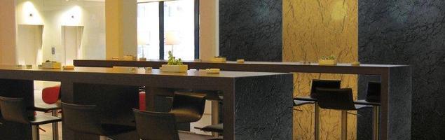 Sposób na oryginalne aranżacje restauracji – strukturalne ściany