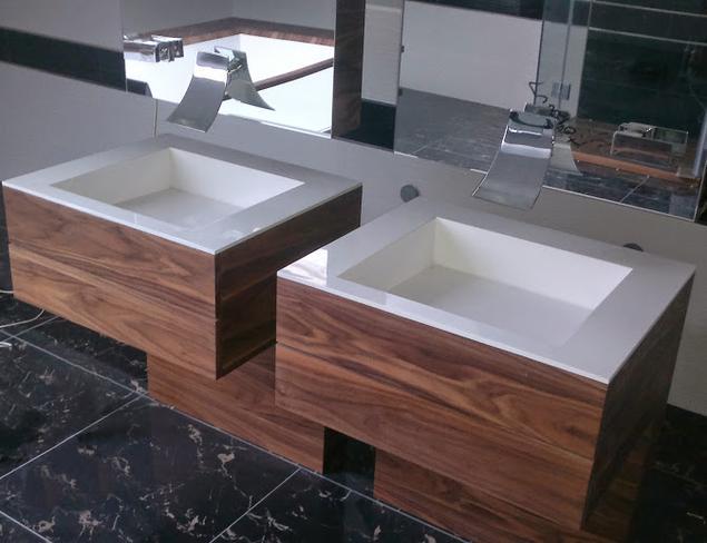 Nowoczesne umywalki na wymiar. Ekskluzywna łazienka
