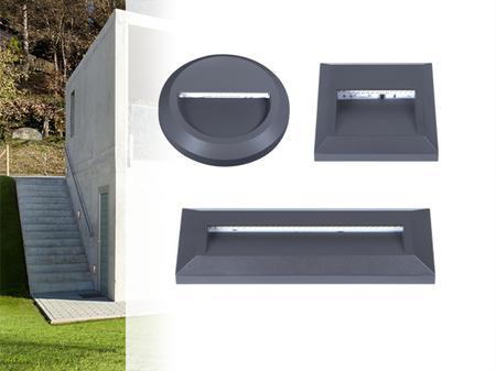 Dekoracyjne oprawy zewnętrzne LED Onstar i Croto KANLUX
