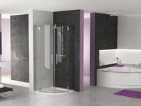 Minimalistyczna łazienka w Avantgardowym stylu