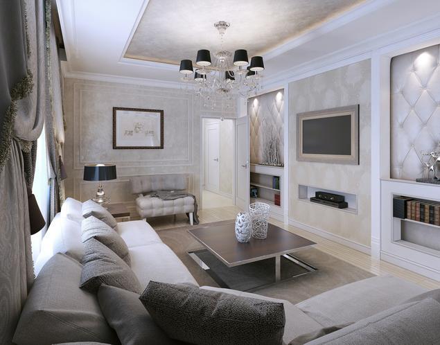 Zobacz galerię zdjęć Piękny i elegancki salon w stylu glamour  Stronywnętrza pl -> Kuchnia W Stylu Glamour Galeria