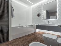 Funkcjonalna aranżacja łazienki – pomysł na białą łazienkę