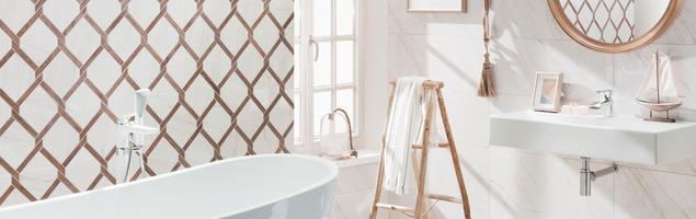 Płytki łazienkowe – pomysł na nowoczesną łazienkę w śródziemnomorskim klimacie